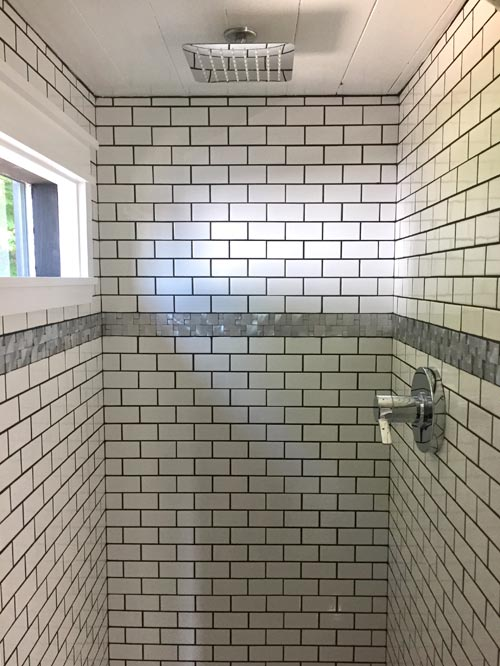Tile Shower - Arcadia by B&B Micro Manufacturing