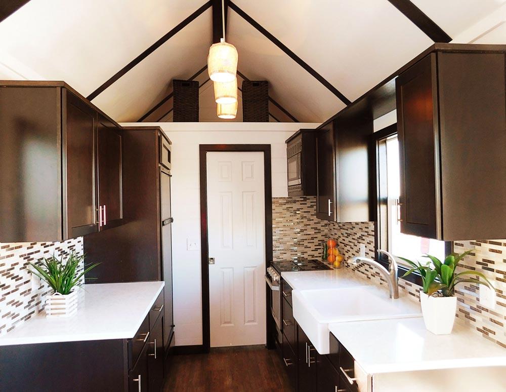 Galley Kitchen - Cascade by Tiny Idahomes