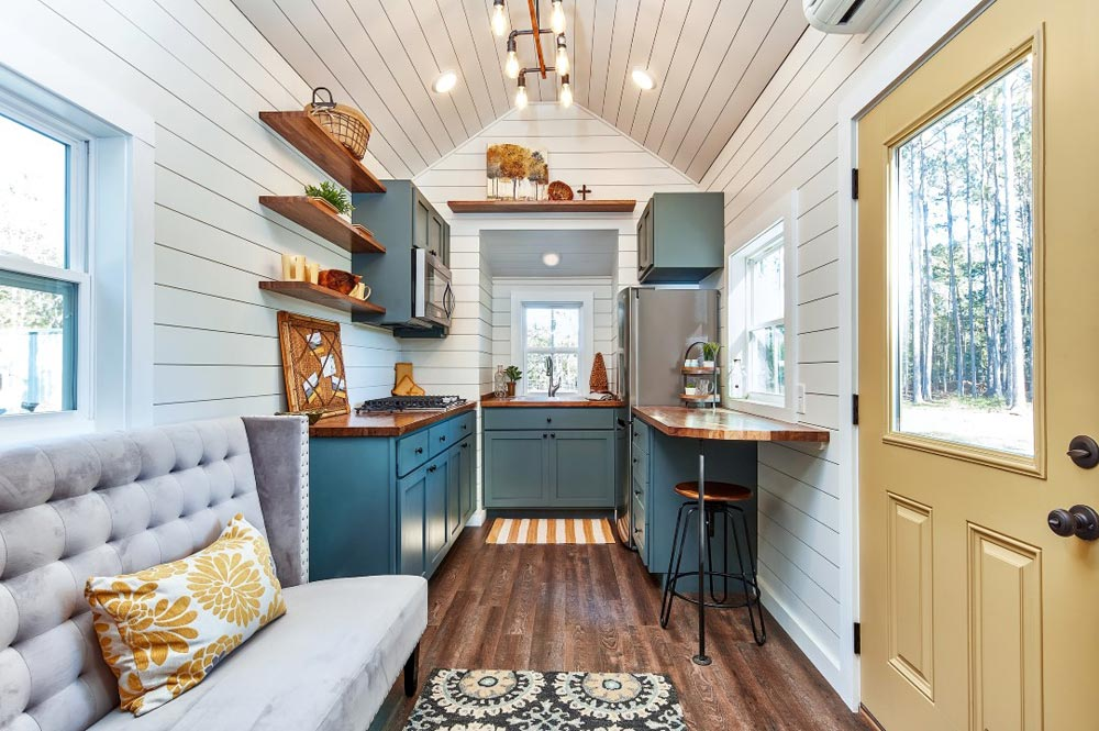 Interior View - Cypress by Mustard Seed Tiny Homes