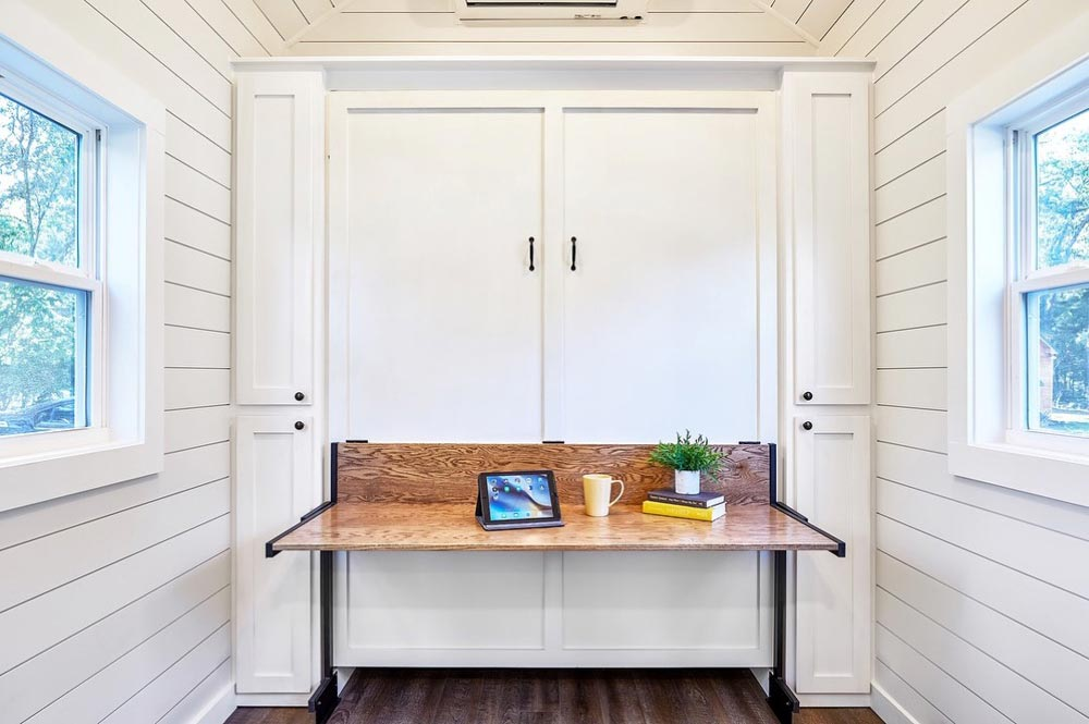Desk/Murphy Bed - Cypress by Mustard Seed Tiny Homes