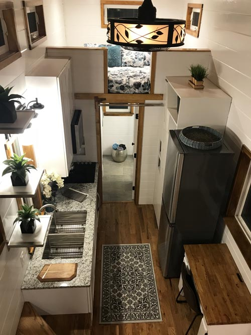 Aerial View - Movie Star by Incredible Tiny Homes