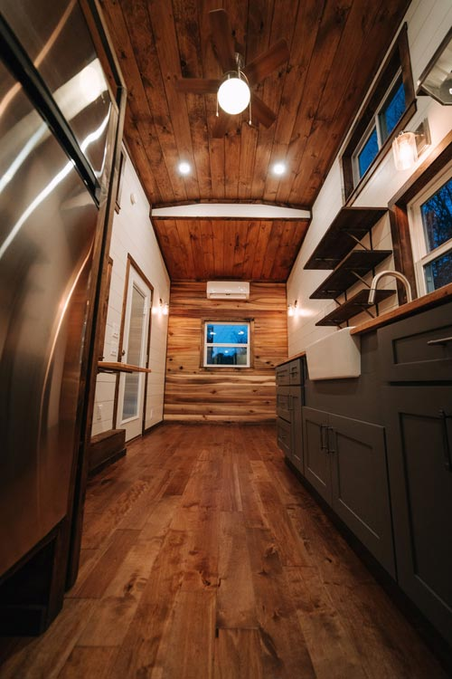 Galley Kitchen - Noah by Wind River Tiny Homes