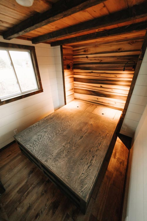 Main Floor Master Bedroom - Noah by Wind River Tiny Homes