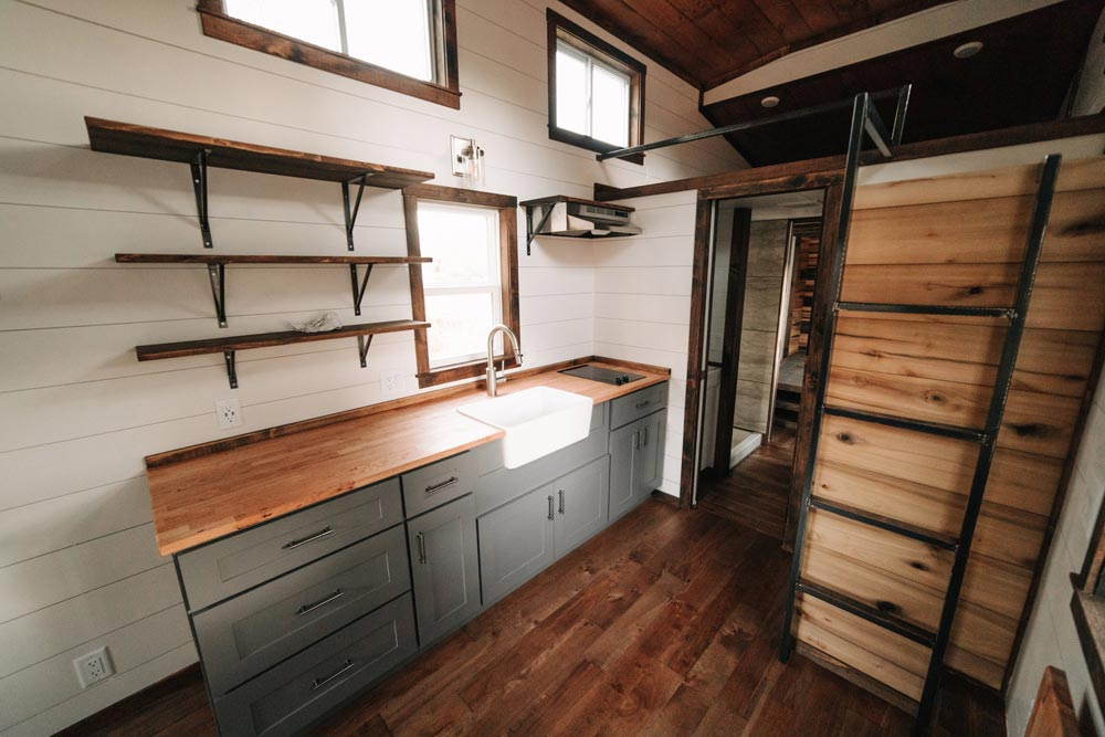 Kitchen - Noah by Wind River Tiny Homes