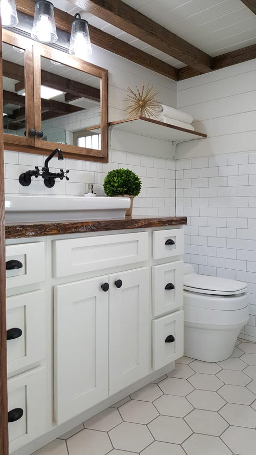 Bathroom - Phoenix by Alpine Tiny Homes