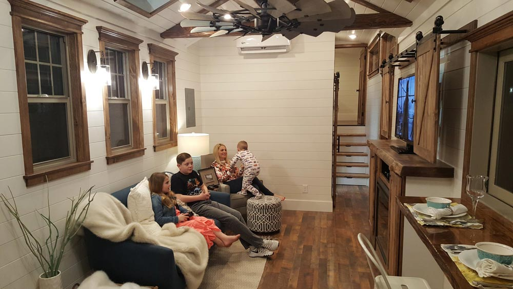 Living Room - Phoenix by Alpine Tiny Homes