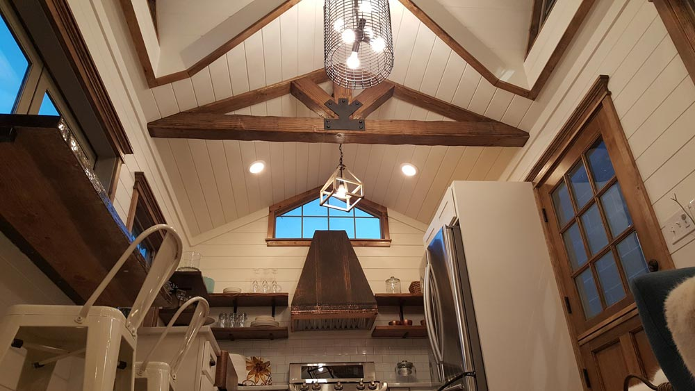 Exposed Beams - Phoenix by Alpine Tiny Homes