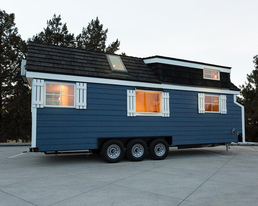 Rear Exterior View - Porchlight by Hideaway Tiny Homes