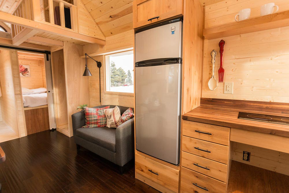Refrigerator - Porchlight by Hideaway Tiny Homes