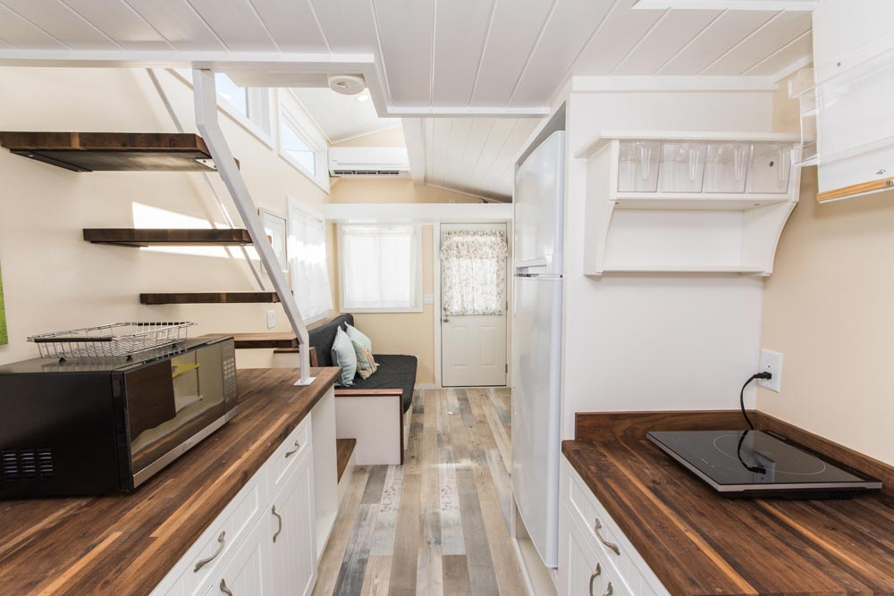 Galley Kitchen - Siesta at Tiny House Siesta