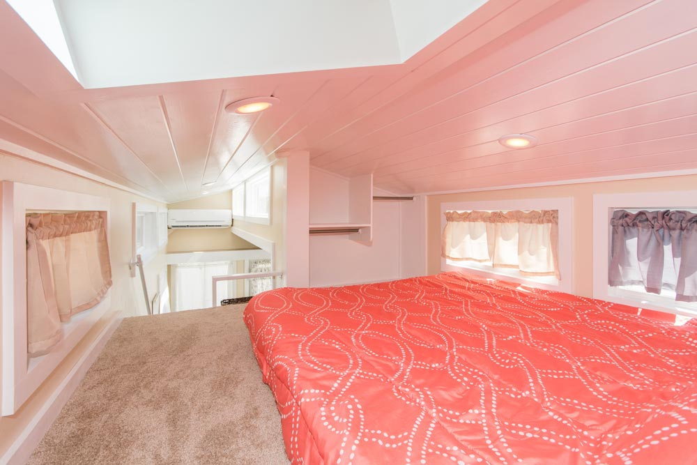 Loft Closet - Siesta at Tiny House Siesta