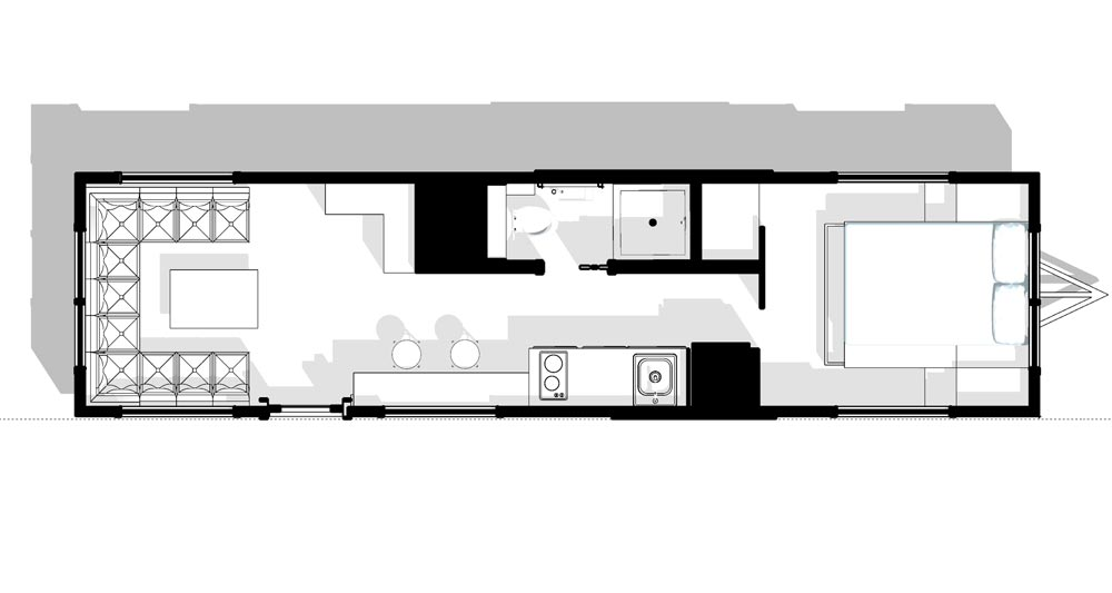 Floor Plan - Silver Lake by B&B Micro Manufacturing