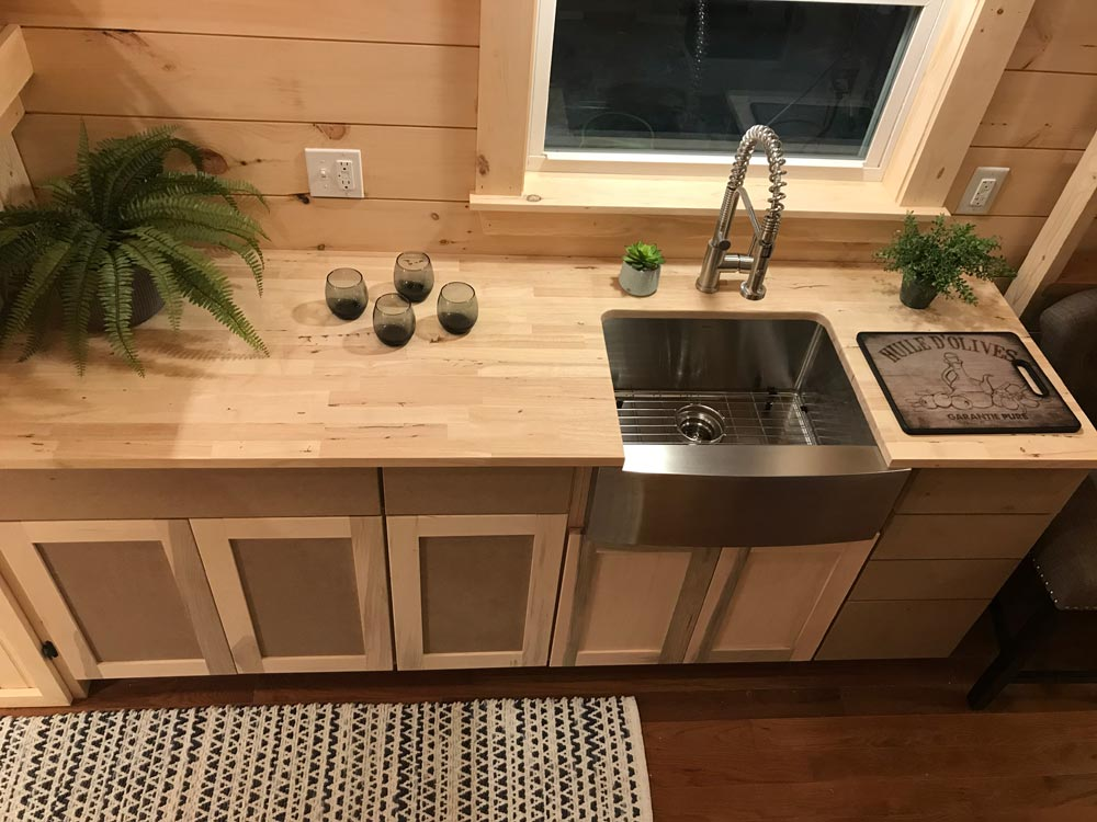 Butcher Block Counter - Sweet Dream by Incredible Tiny Homes