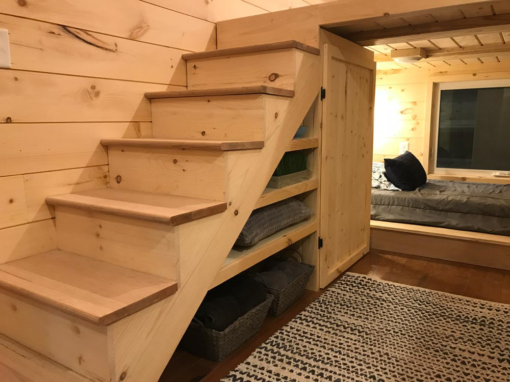 Storage Stairs - Sweet Dream by Incredible Tiny Homes
