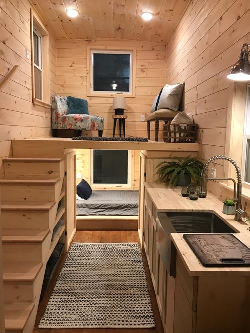 Tiny House Interior - Sweet Dream by Incredible Tiny Homes