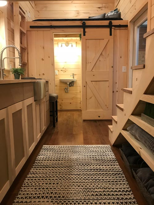Barn Door - Sweet Dream by Incredible Tiny Homes