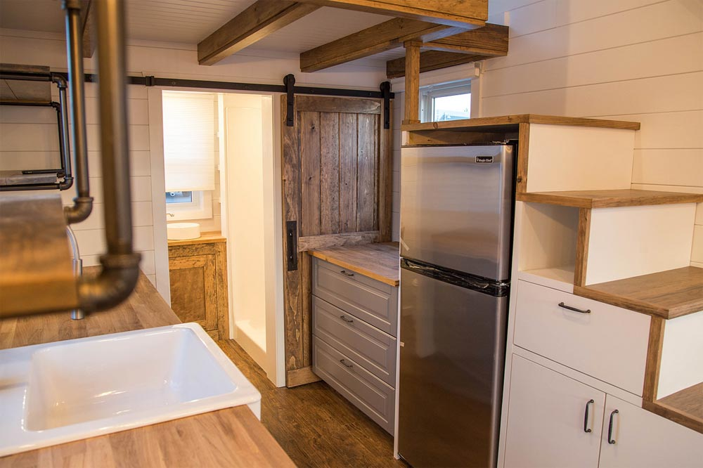 Refrigerator - Farmhouse Take Five by Liberation Tiny Homes