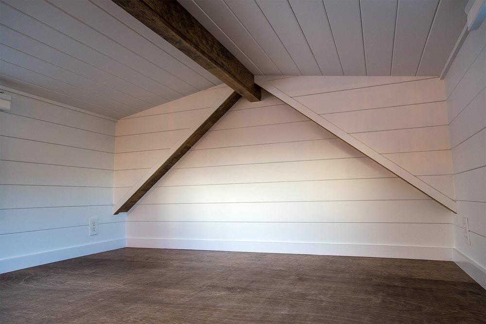 Bedroom Loft - Farmhouse Take Five by Liberation Tiny Homes