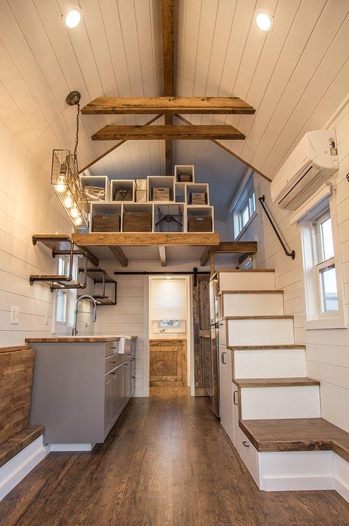 Living Area - Farmhouse Take Five by Liberation Tiny Homes
