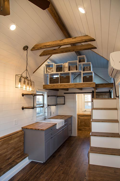 Exposed Beams - Farmhouse Take Five by Liberation Tiny Homes