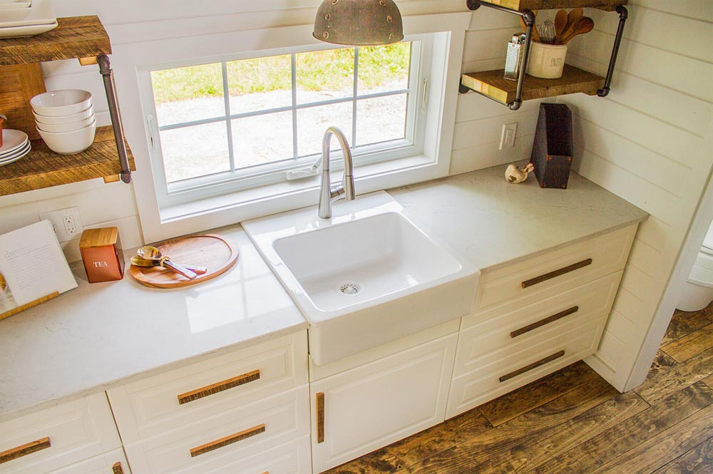 Granite Counters - Farmhouse Take Four by Liberation Tiny Homes
