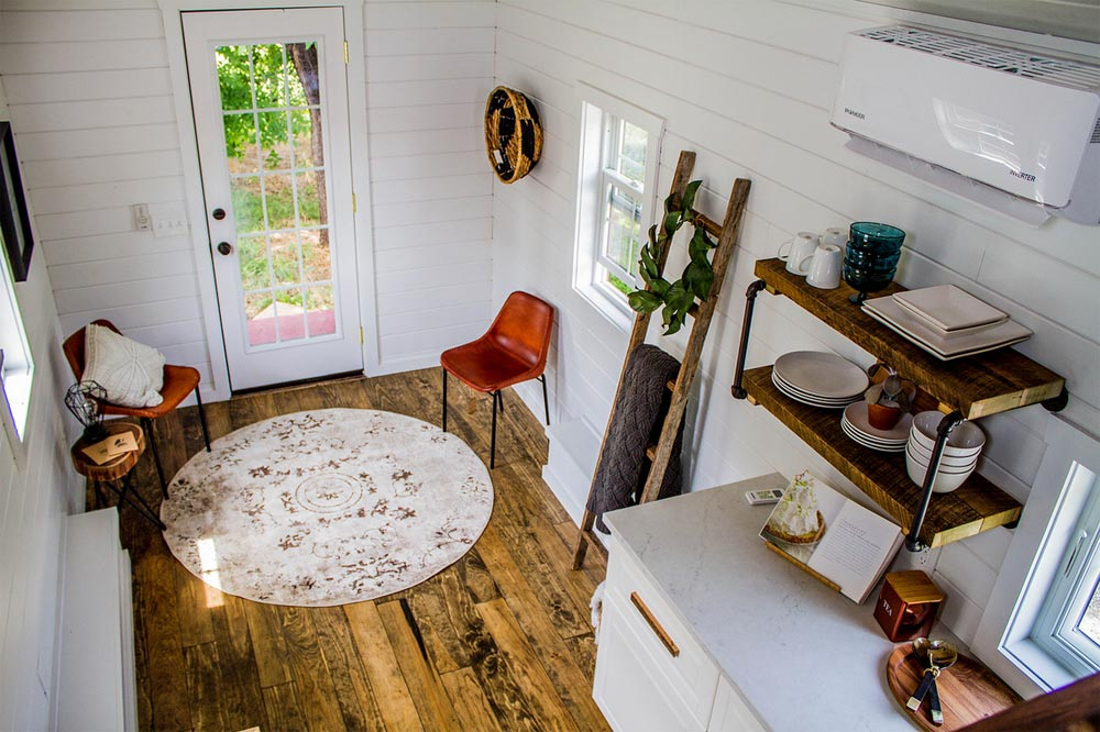 Living Room - Farmhouse Take Four by Liberation Tiny Homes