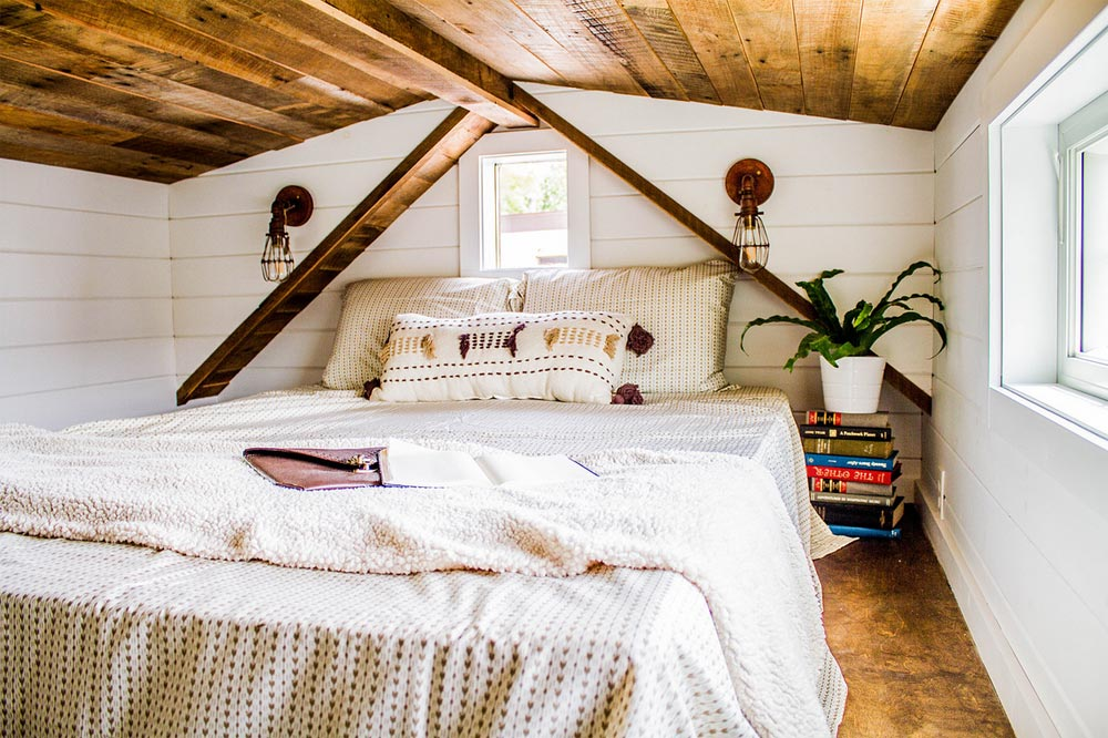 Bedroom Loft - Farmhouse Take Four by Liberation Tiny Homes