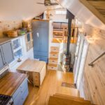 Tara's 33′ Gooseneck Tiny House by Mitchcraft Tiny Homes