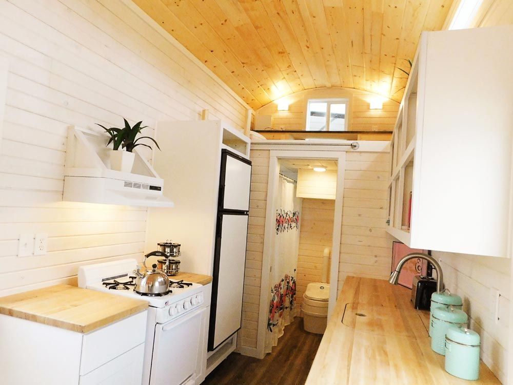 Stove & Refrigerator - Artist's Tiny House by Tiny Idahomes