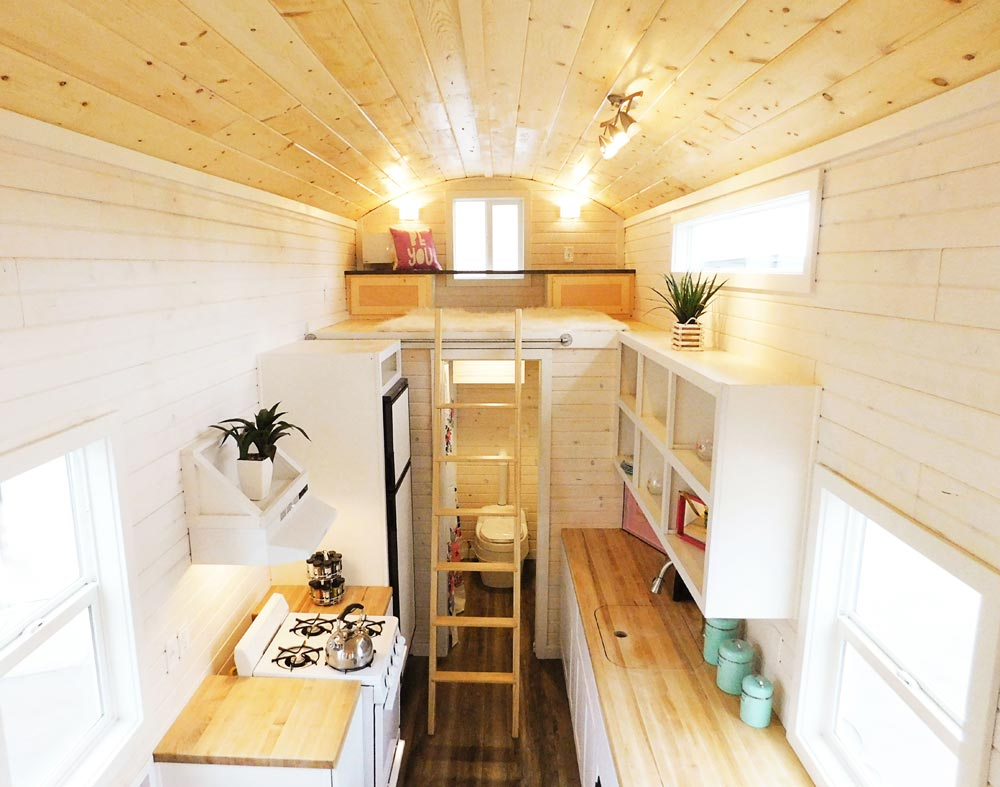 Art Loft - Artist's Tiny House by Tiny Idahomes