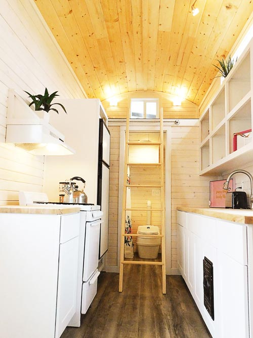 Galley Kitchen - Artist's Tiny House by Tiny Idahomes