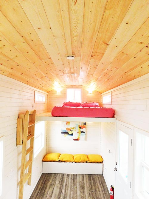 Bedroom Loft - Artist's Tiny House by Tiny Idahomes