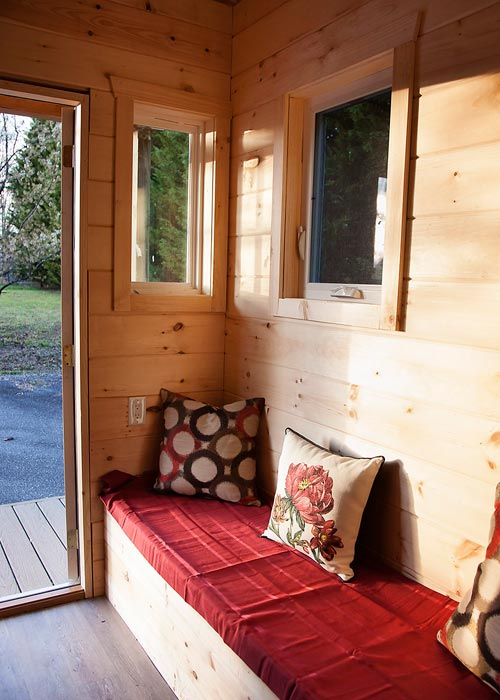 Built-In Couch - Copper Canyon by Catawba River Tiny Homes