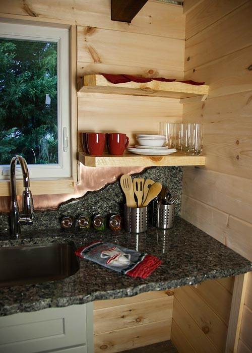 Granite Counter - Copper Canyon by Catawba River Tiny Homes