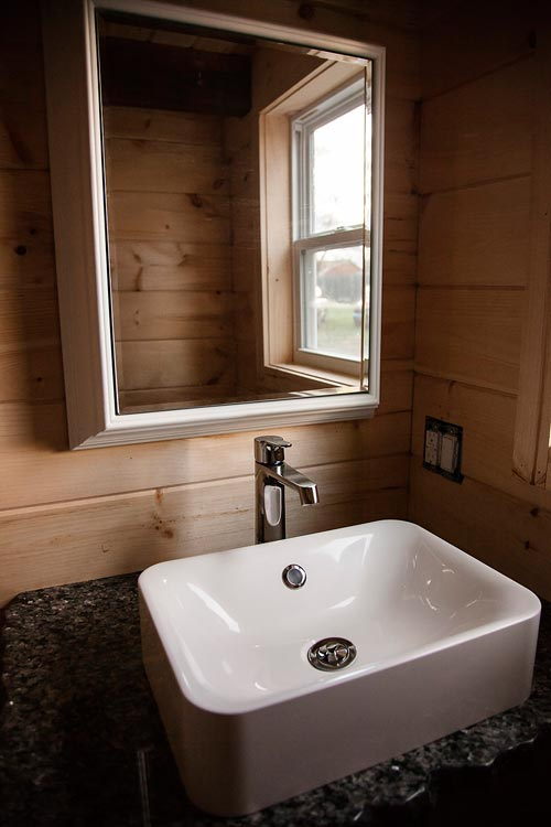 Bathroom Sink - Copper Canyon by Catawba River Tiny Homes