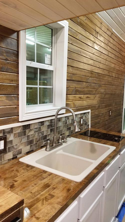 Glass Tile Backsplash - Islander by Titanium Tiny Homes