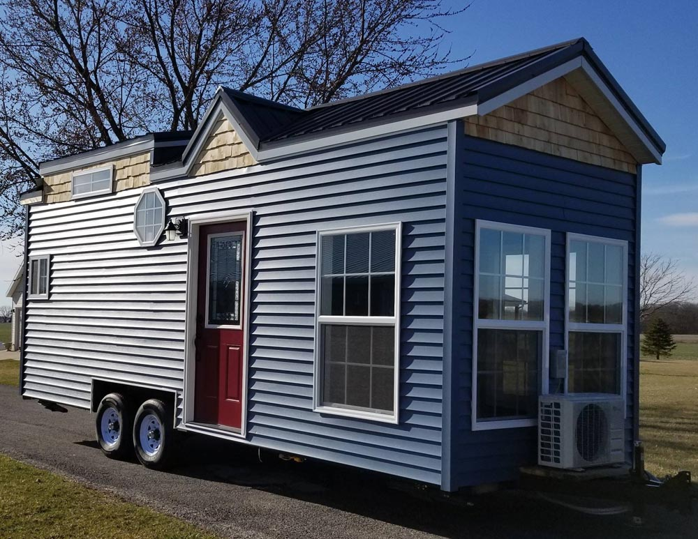 Blue Exterior Siding - Islander by Titanium Tiny Homes
