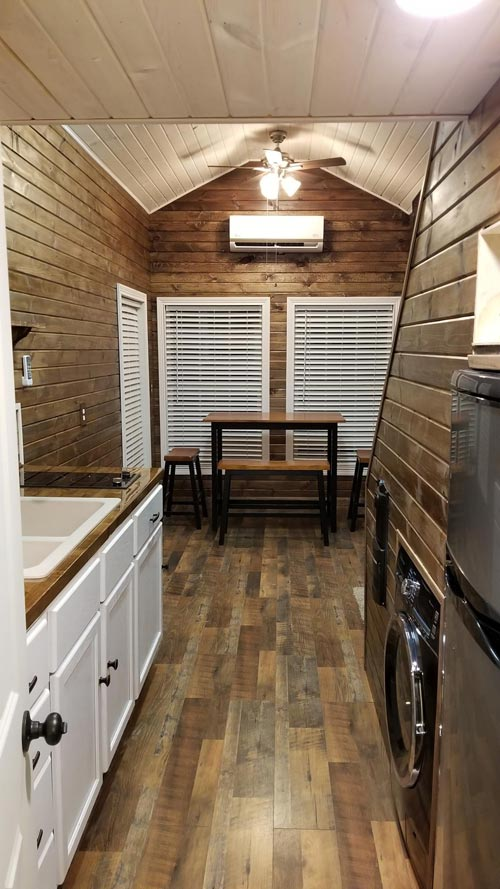 Kitchen & Living Room - Islander by Titanium Tiny Homes
