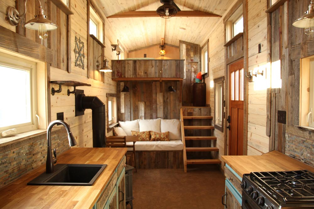 Living Area - JJ's Place by SimBLISSity Tiny Homes