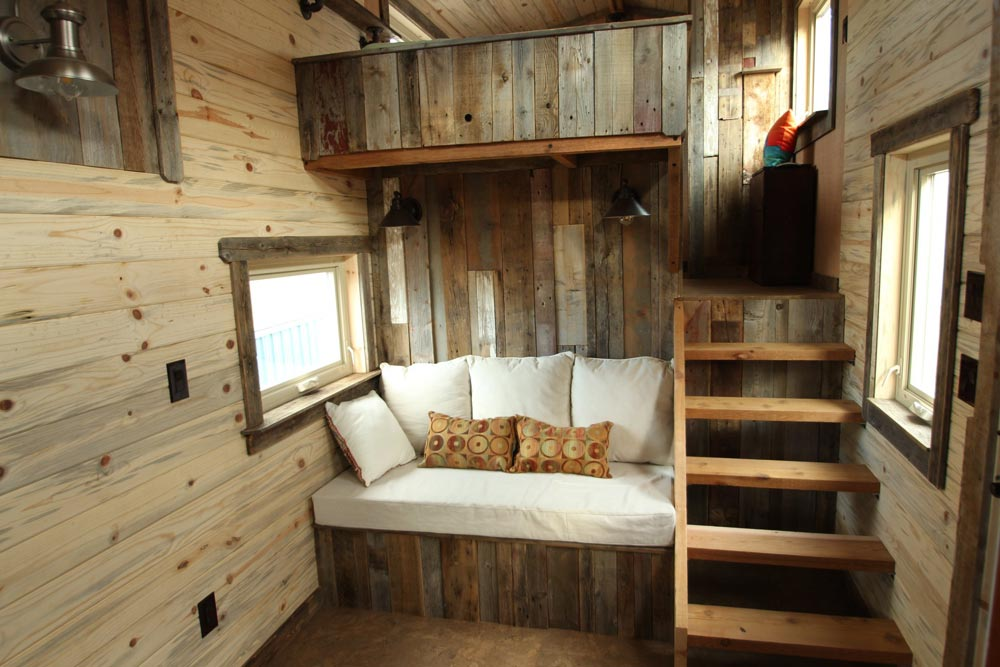 Living Room - JJ's Place by SimBLISSity Tiny Homes