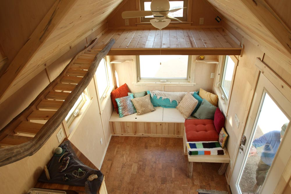Living Room w/ Catwalk - Judy Blue Eyes by SimBLISSity Tiny Homes