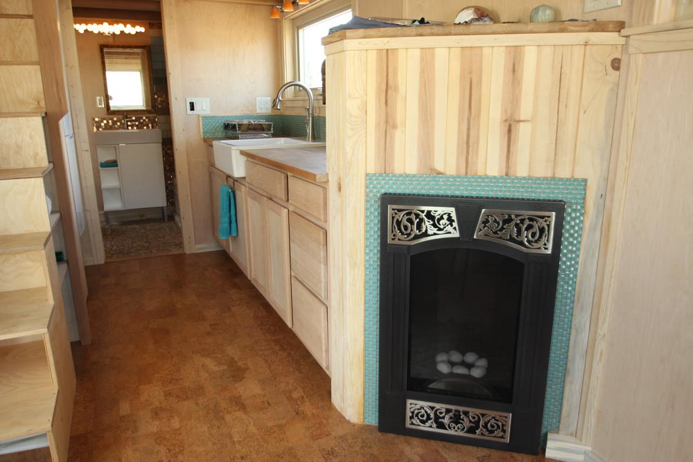 Fireplace - Judy Blue Eyes by SimBLISSity Tiny Homes