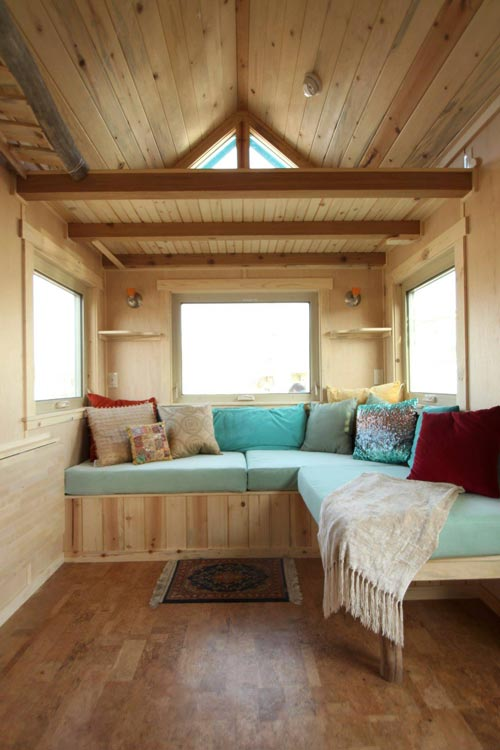 Built-In Benches - Judy Blue Eyes by SimBLISSity Tiny Homes