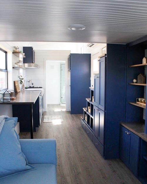 Tiny House Interior - Juniper by Mustard Seed Tiny Homes