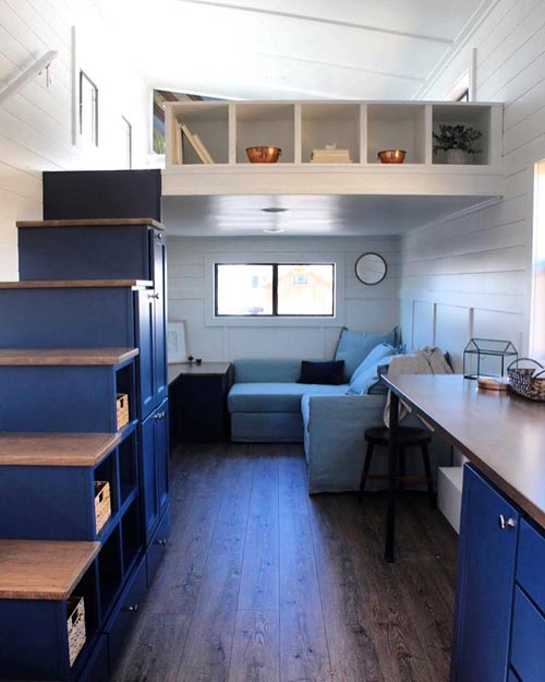 Loft Stairs - Juniper by Mustard Seed Tiny Homes