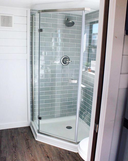 Shower - Juniper by Mustard Seed Tiny Homes