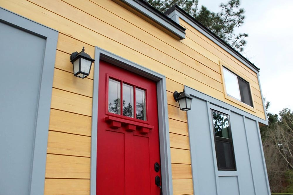 Front Door - Juniper by Mustard Seed Tiny Homes