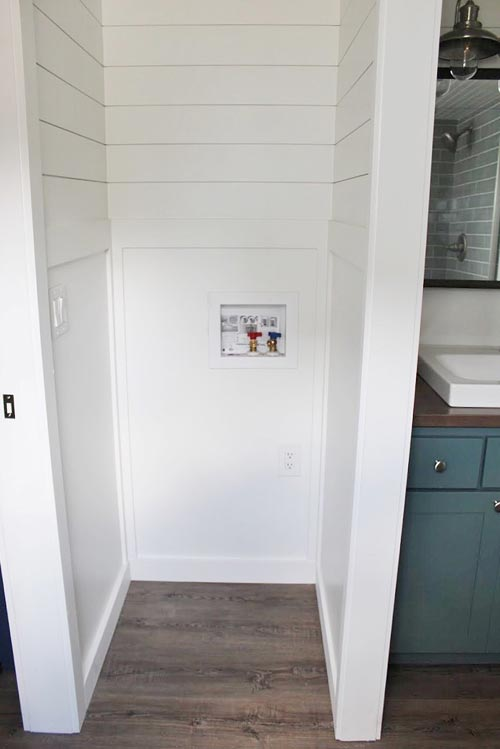 Washer/Dryer Area - Juniper by Mustard Seed Tiny Homes