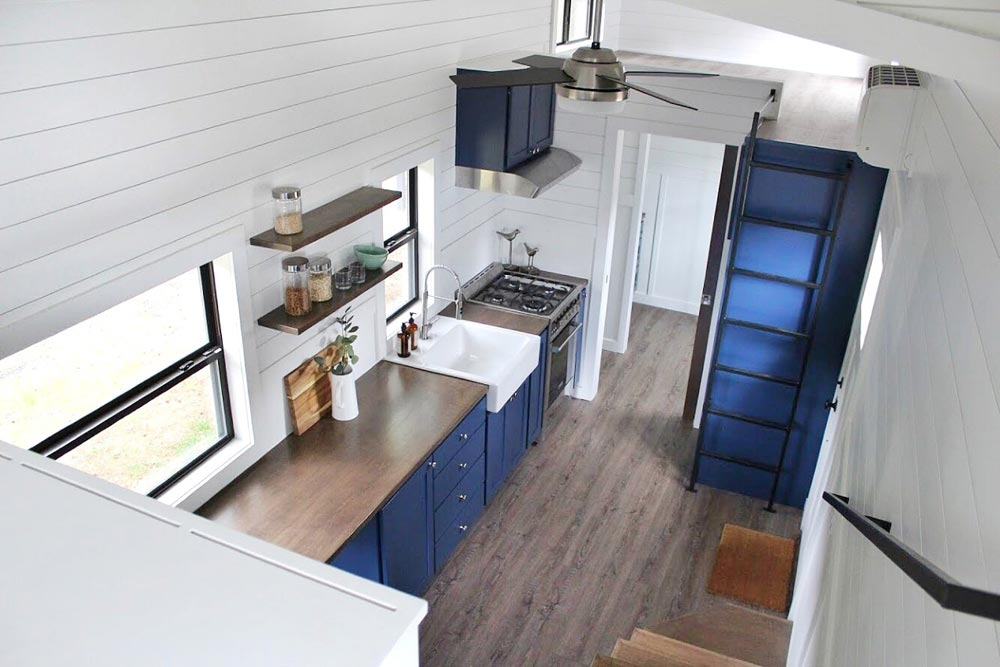 View From Loft - Juniper by Mustard Seed Tiny Homes