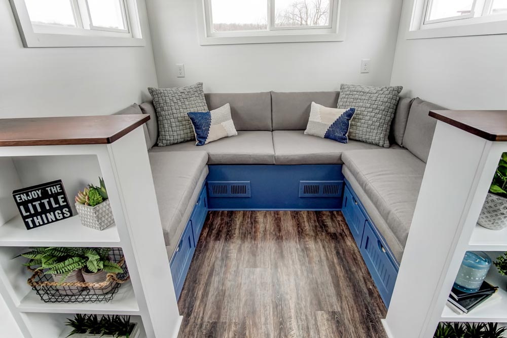 Built-In Bench Seating - Lodge by Modern Tiny Living